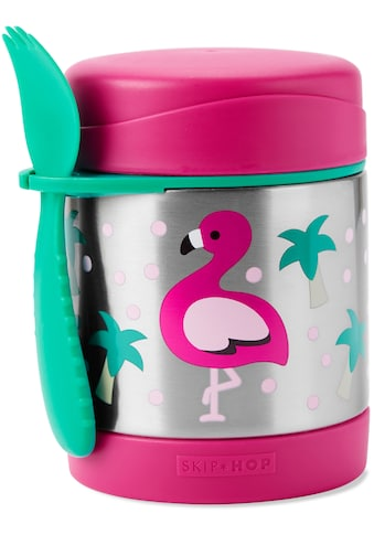 "Skip Hop Thermobehälter ""Zoo Edelstahl Warmhaltebehälter Flamingo"" (2 - tlg.) kaufen"