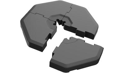 SCHNEIDER SCHIRME Einlegeplatte 4 - tlg., Kunststoff, für Ampelschirme, 100 kg, inkl. Adapter kaufen