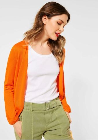 STREET ONE Shirtjacke, aus Feinstrick kaufen