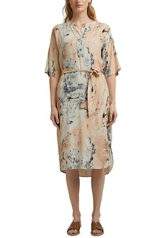 Esprit Collection Blusenkleid, (2 tlg., mit Bindegürtel), in bequemer Tunikaform kaufen