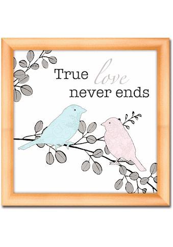 Artland Wandbild »Echte Liebe« kaufen