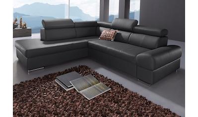sit&more Ecksofa, wahlweise mit Bettfunktion kaufen