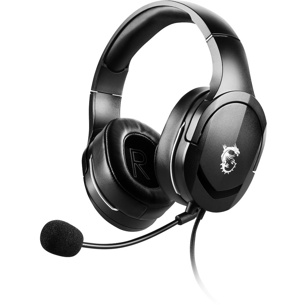 MSI Gaming-Headset »Immerse GH20«, Ultraleichtgewicht nur 245 Gramm