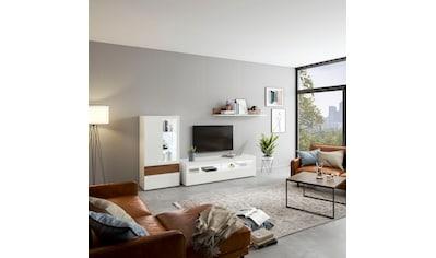 now! by hülsta TV-Board »now! vision«, mit Klarglaseinsatz kaufen