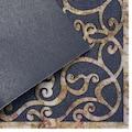 DELAVITA Fußmatte »Welcome Ornament«, rechteckig, 6 mm Höhe, Schmutzmatte, mit Spruch, In- und Outdoor geeignet