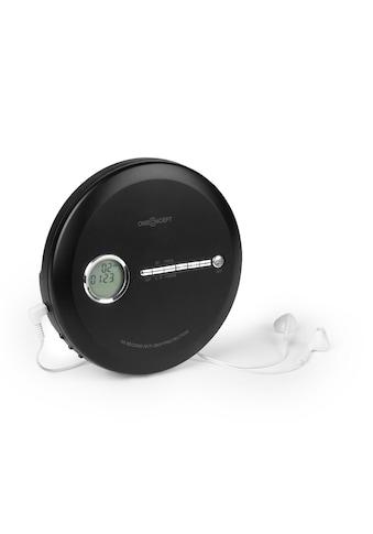 ONECONCEPT Discman BT - Funktion LCD ASP 2x1,5V schwarz »MG3 CDC - 100 BT BK« kaufen