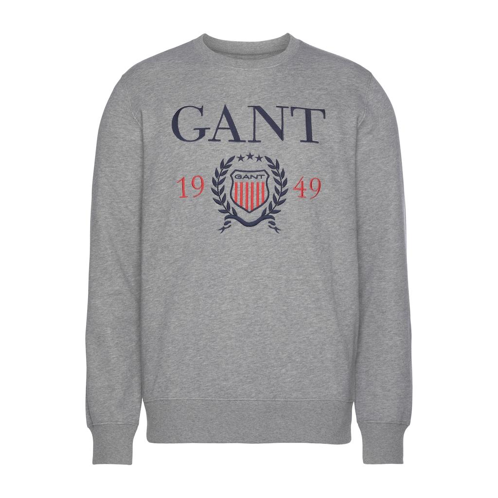 Gant Sweatshirt »CREST 1949«