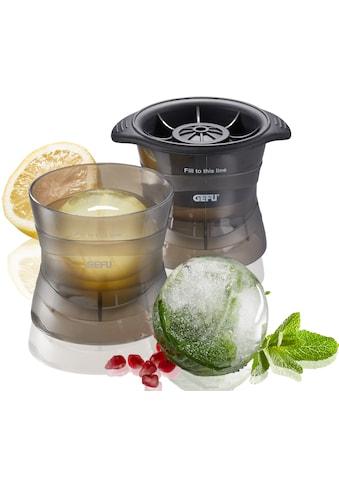 GEFU Eiswürfelform »GLOBE«, (Set, 2 St.), Kunststoff, spülmaschinengeeignet kaufen