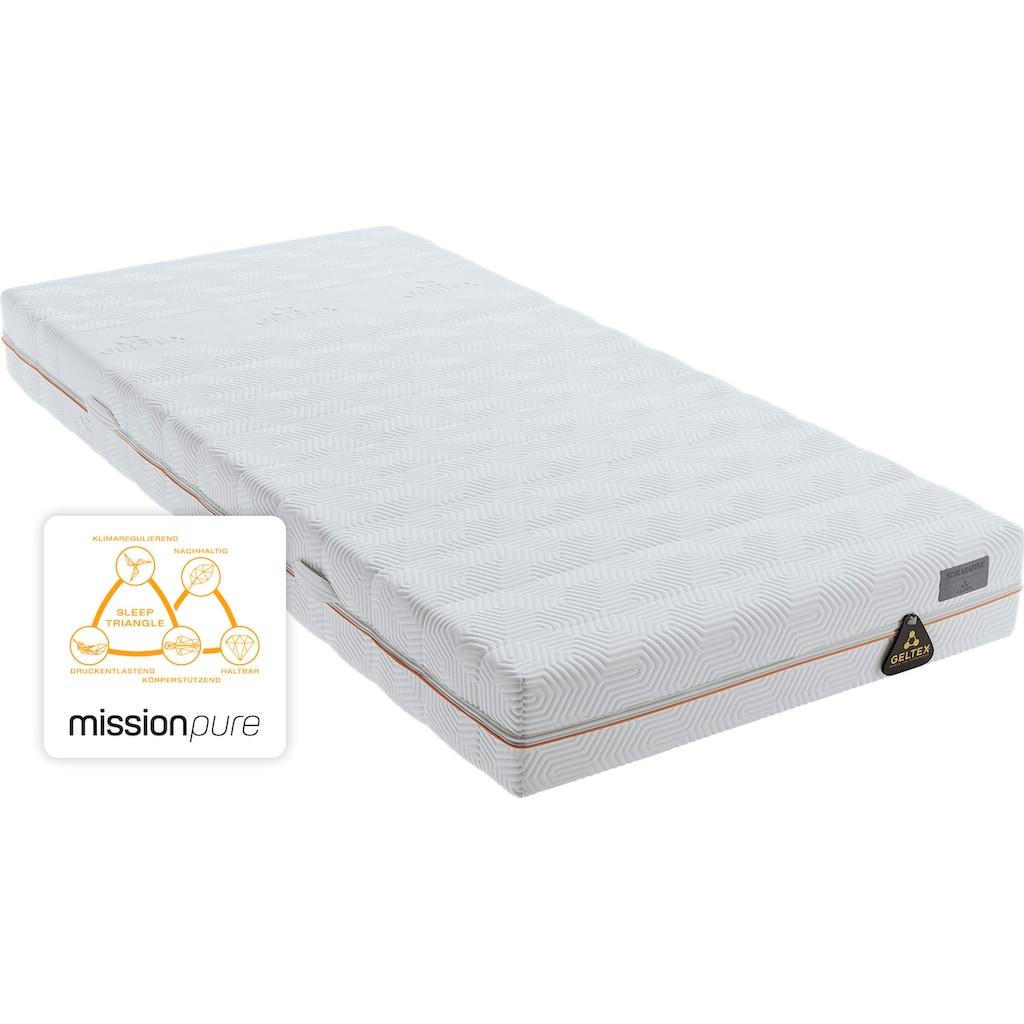 Schlaraffia Gelschaummatratze »GELTEX® Quantum Pure 200«, (1 St.), Schlafkomfort dank der flexiblen Körperanpassung!