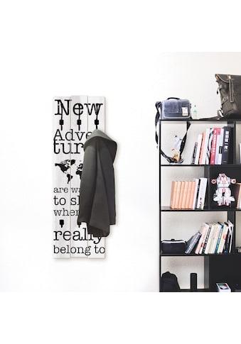 Artland Garderobenpaneel »Neue Abenteuer« kaufen