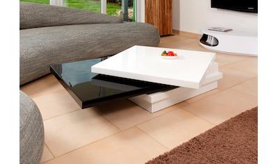 SalesFever Couchtisch, Tischplatte drehbar um 360° kaufen