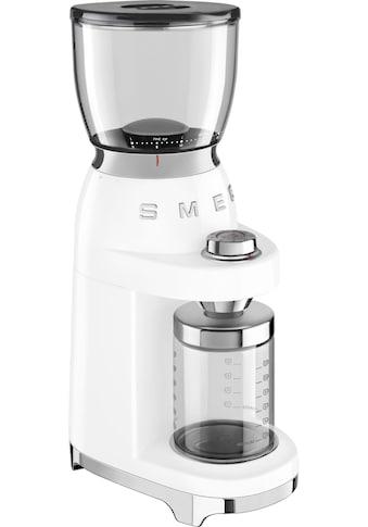 Smeg Kaffeemühle CGF01WHEU, Kegelmahlwerk kaufen