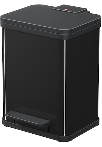 Hailo Mülleimer »Öko Duo Plus M«, schwarz, Fassungsvermögen ca. 2x 9 Liter kaufen