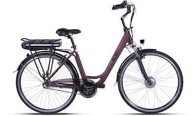 LLobe E - Bike »Metropolitan JOY rot 8 Ah«, 3 Gang Nabenschaltung, Frontmotor 250 W kaufen
