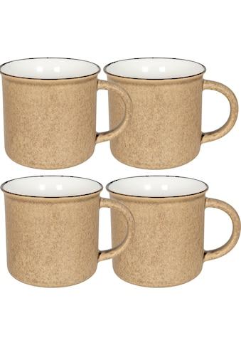 Könitz Becher »Vinage mug«, (Set, 4 tlg., 4 Becher), 365 ml, 4-teilig kaufen