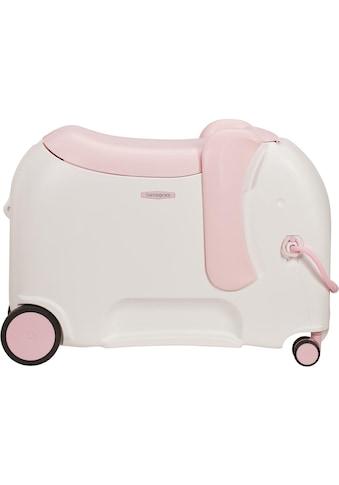 Samsonite Kinderkoffer »Dreamrider Deluxe, elephant peachy«, 4 Rollen kaufen