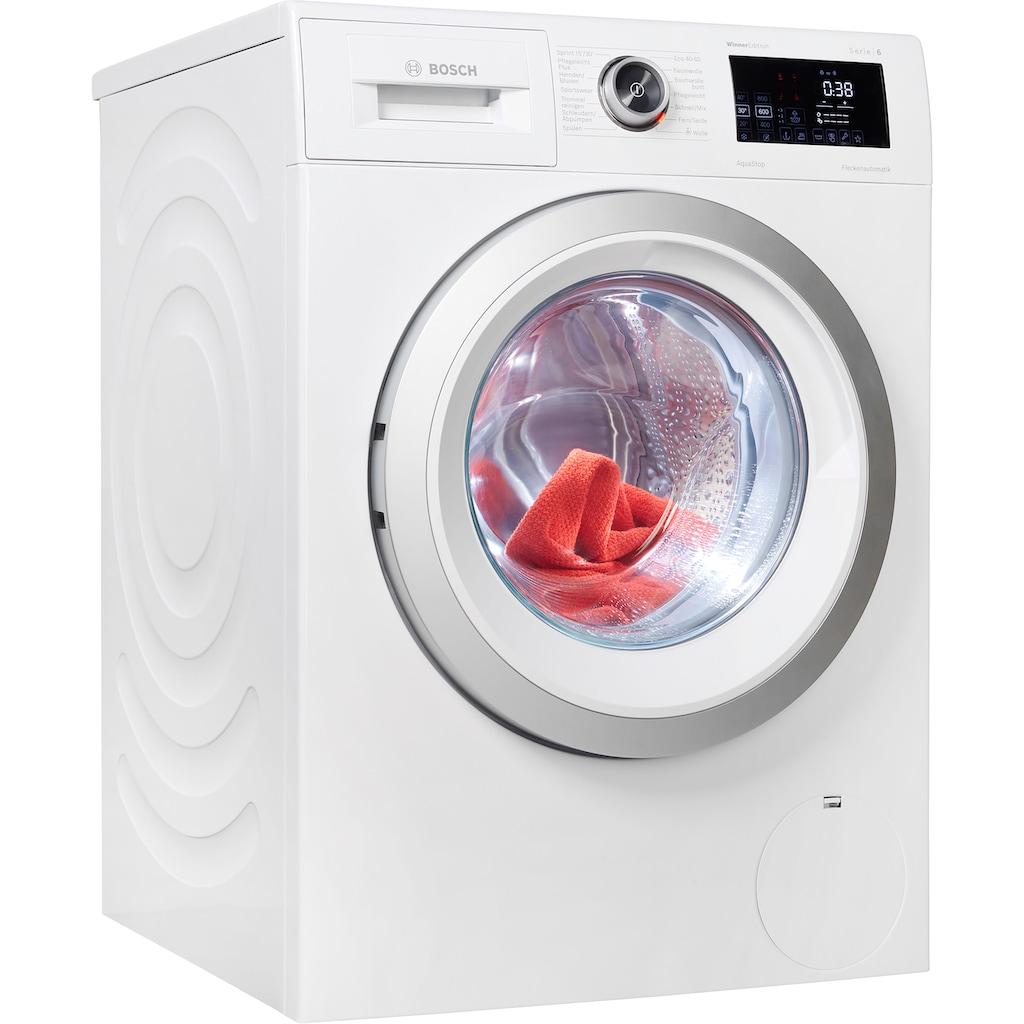 BOSCH Waschmaschine, WAU28RWIN, 9 kg, 1400 U/min