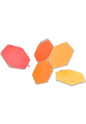nanoleaf LED Panel »Nanoleaf Shapes Hexagons Starter Kit 5 PK«, LED-Board, Farbwechsler kaufen