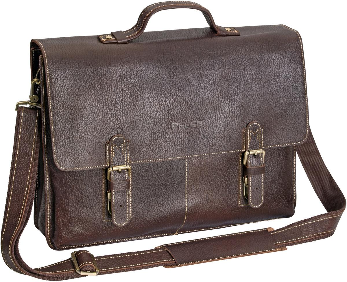 PEDEA Notebooktasche »Vintage Ledertasche San Marcos 15,6´´ (39, 6cm)«
