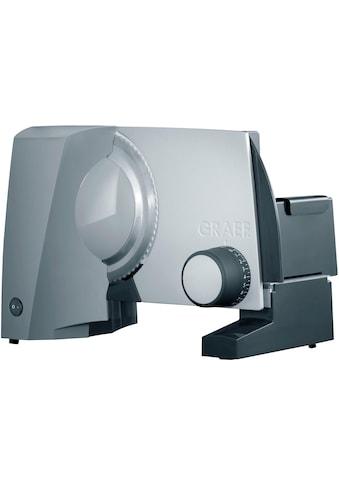 Graef Allesschneider »G52 TWIN, grau«, 170 W, inkl. Schinkenmesser im Wert von 24,99€ UVP kaufen