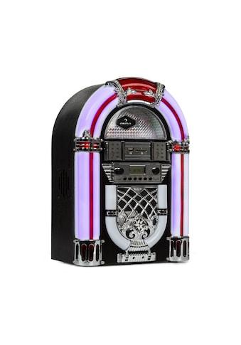 Auna Jukebox, BT, UKW-Radio, USB, SD, MP3, CD-Player, schwarz kaufen