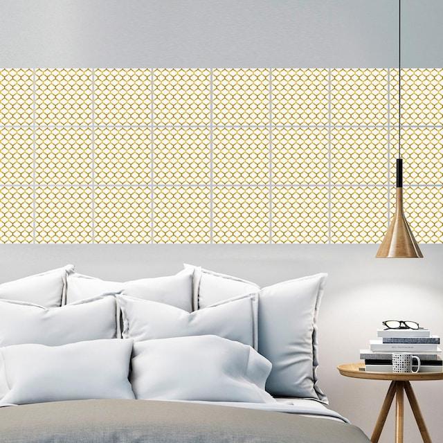 Fliesenaufkleber »Muster« (Set, 12 Stück)