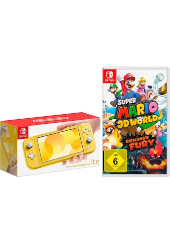 Nintendo Switch Konsolen-Set »Lite«, inkl. Mario 3D World + Bowser's Fury kaufen