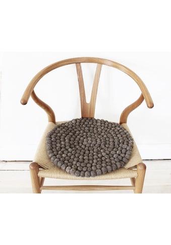 Sitzkissen, »Uni Color«, Wooldot kaufen