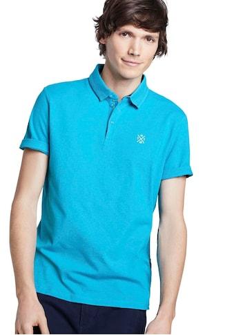 TOM TAILOR Poloshirt, mit kleiner Logostickerei kaufen