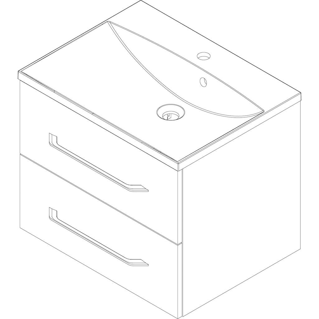 FACKELMANN Waschtisch »B.clever«, Breite 60 cm