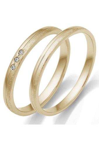 Firetti Trauring mit Gravur »2,5 mm, glanz, eismatt, Diamantschnitt« kaufen