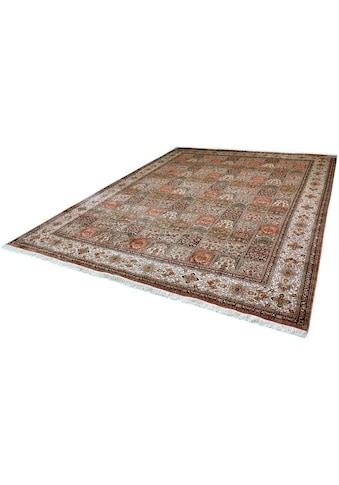Kayoom Seidenteppich »R.Taj 9604«, rechteckig, 10 mm Höhe, Einzelstück mit Zertifikat,... kaufen