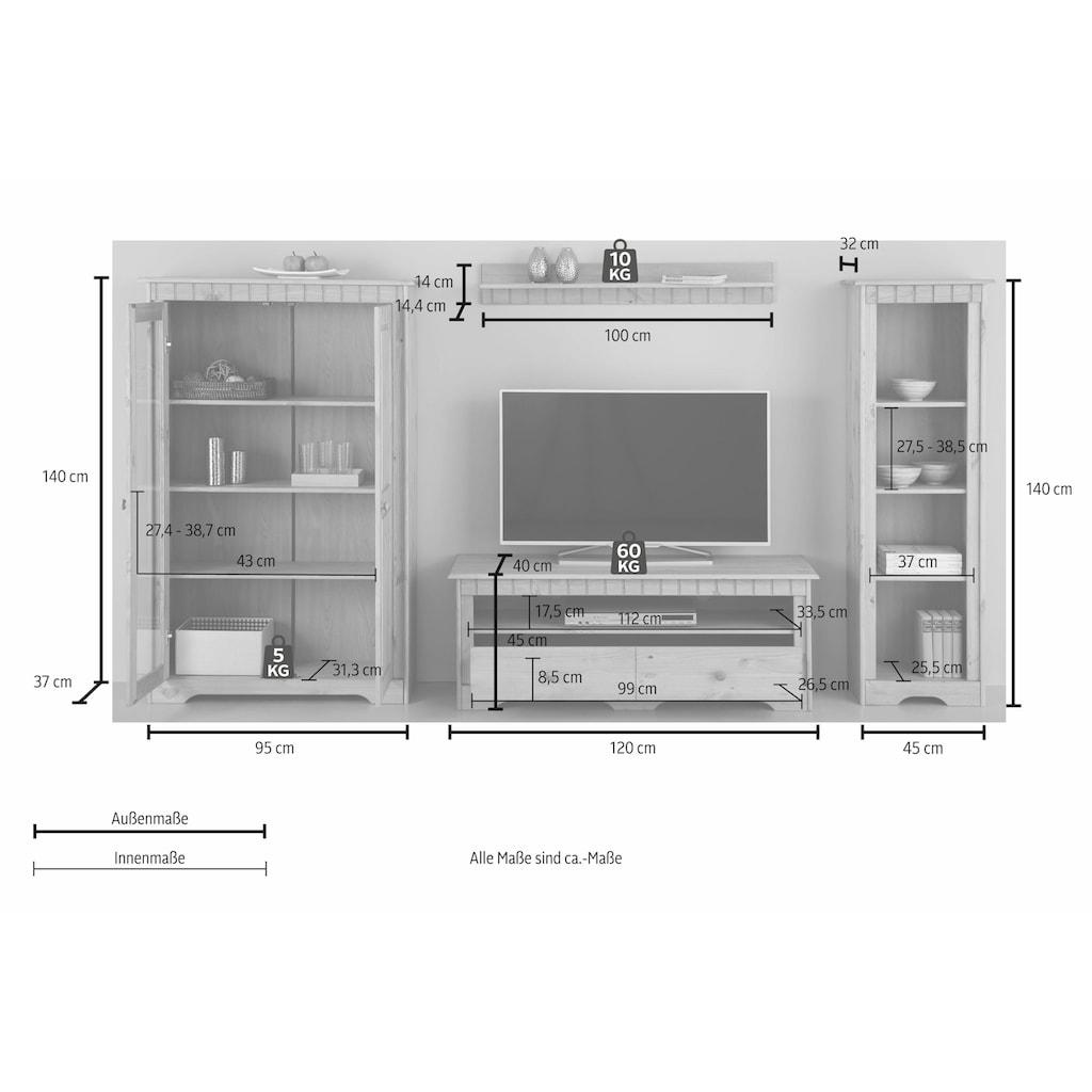 Home affaire Wohnwand »Poehl«, (Set, 4 St.)