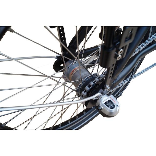 SAXXX E-Bike »Foldi Plus«, 3 Gang Shimano Nexus Schaltwerk, Nabenschaltung, Frontmotor 250 W