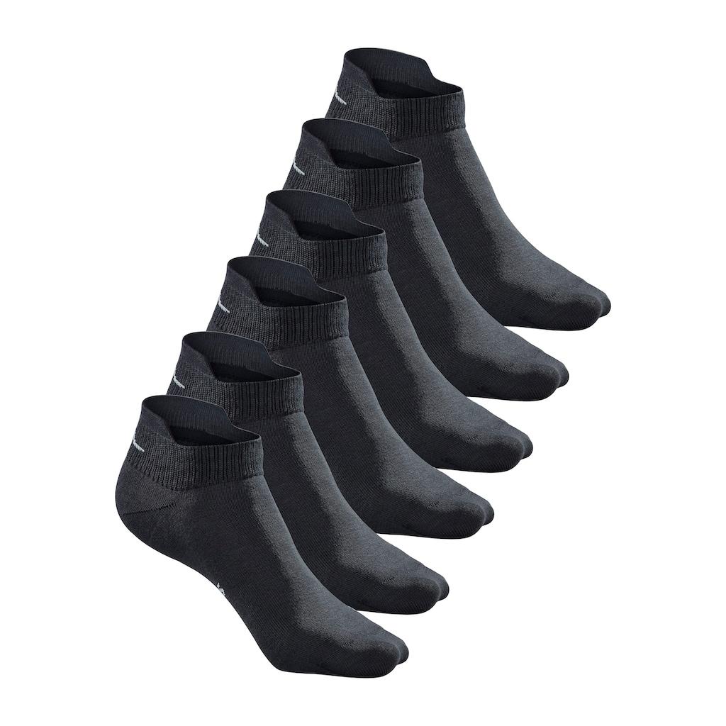 KangaROOS Sneakersocken, (6 Paar), mit erhöhter Ferse