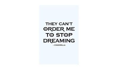 KOMAR XXL Poster »Cinderella Quote« kaufen