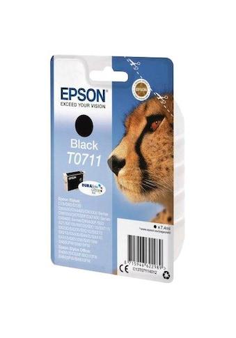 Epson »T0711 Original Schwarz C13T07114012« Tintenpatrone kaufen