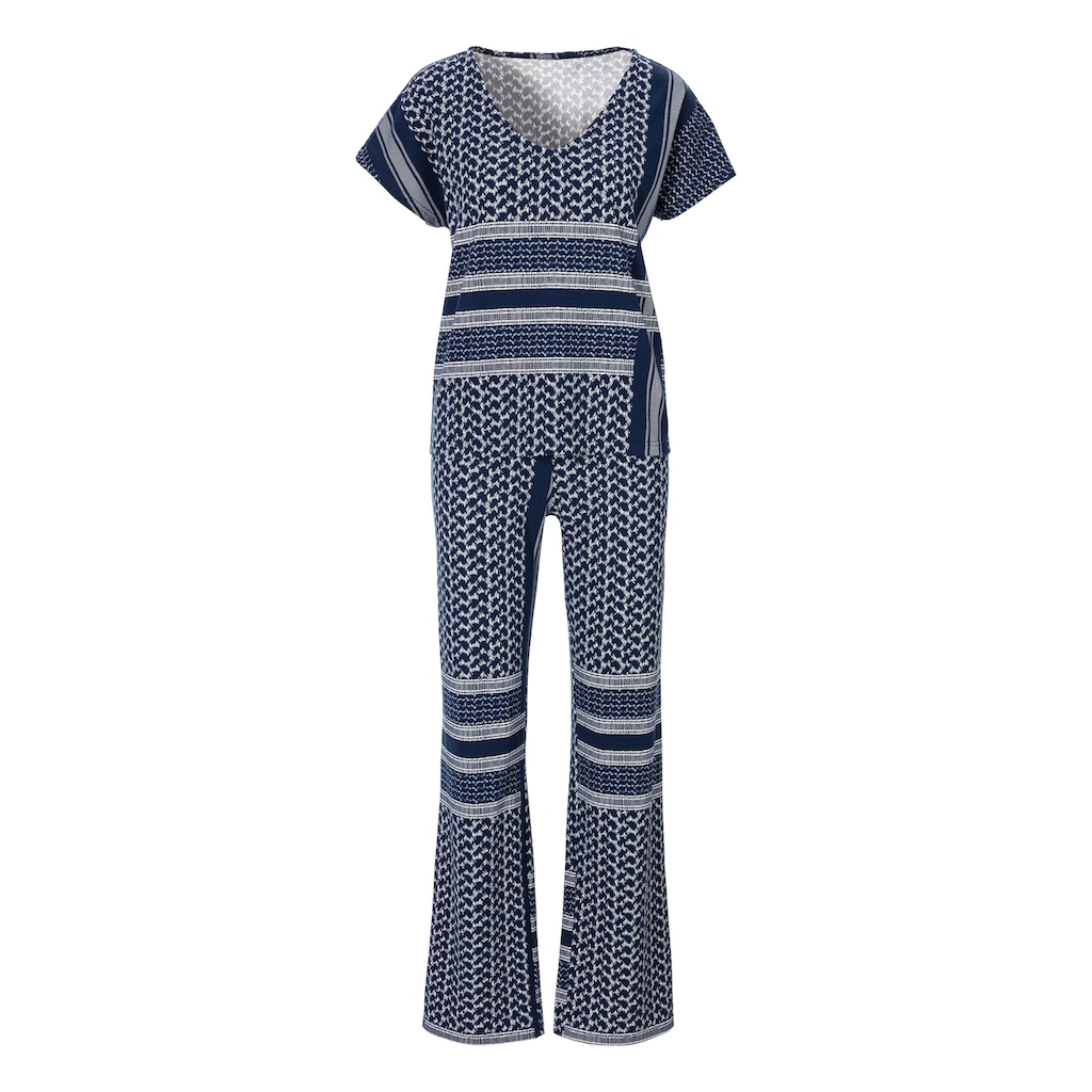 s.Oliver Pyjama, mit Allover-Druck