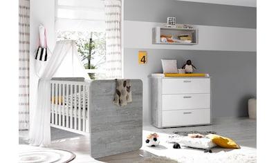 Mäusbacher Babymöbel-Set »Aarhus«, (Spar-Set, 2 St.), Bett + Wickelkommode kaufen
