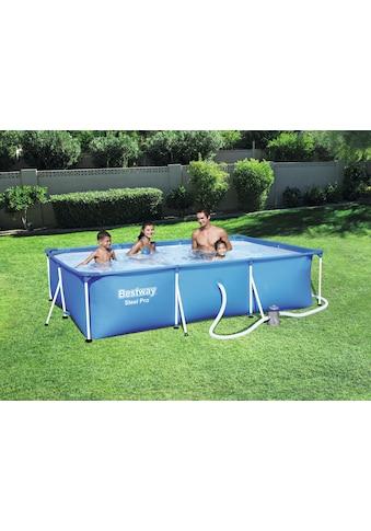 Bestway Pool »Steel Pro Frame Pool« kaufen