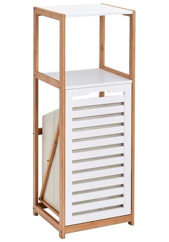 ZELLER Badregal inkl. Wäschesammler, (B/T/H): 36 x 33 x 98cm kaufen