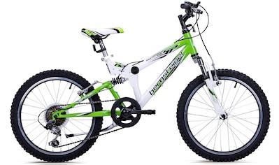 bergsteiger Mountainbike »Montreal«, 6 Gang Shimano Tourney RD - TY21 Schaltwerk, Kettenschaltung kaufen