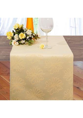 Delindo Lifestyle Tischläufer »MARGERITEN«, Jacquard-Gewebe, 180 g/m² kaufen