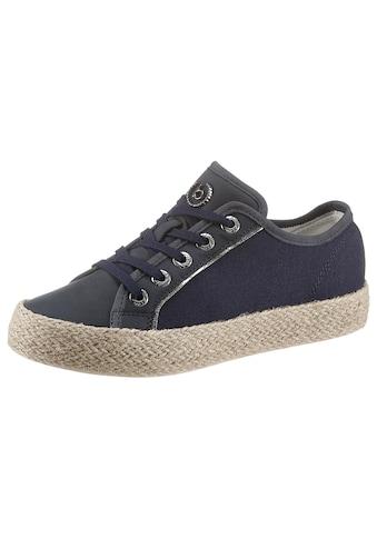 bugatti Sneaker »EVE«, mit geflochtenem Juterand kaufen