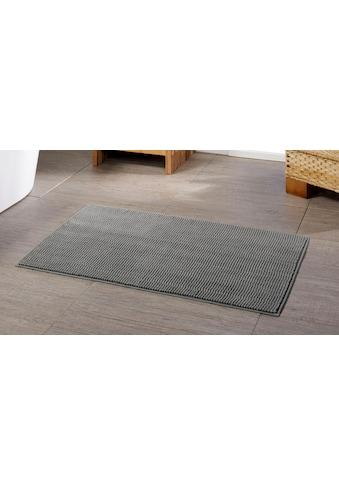 Badematte »Chenille«, Gözze, Höhe 15 mm, rutschhemmend beschichtet, fußbodenheizungsgeeignet kaufen