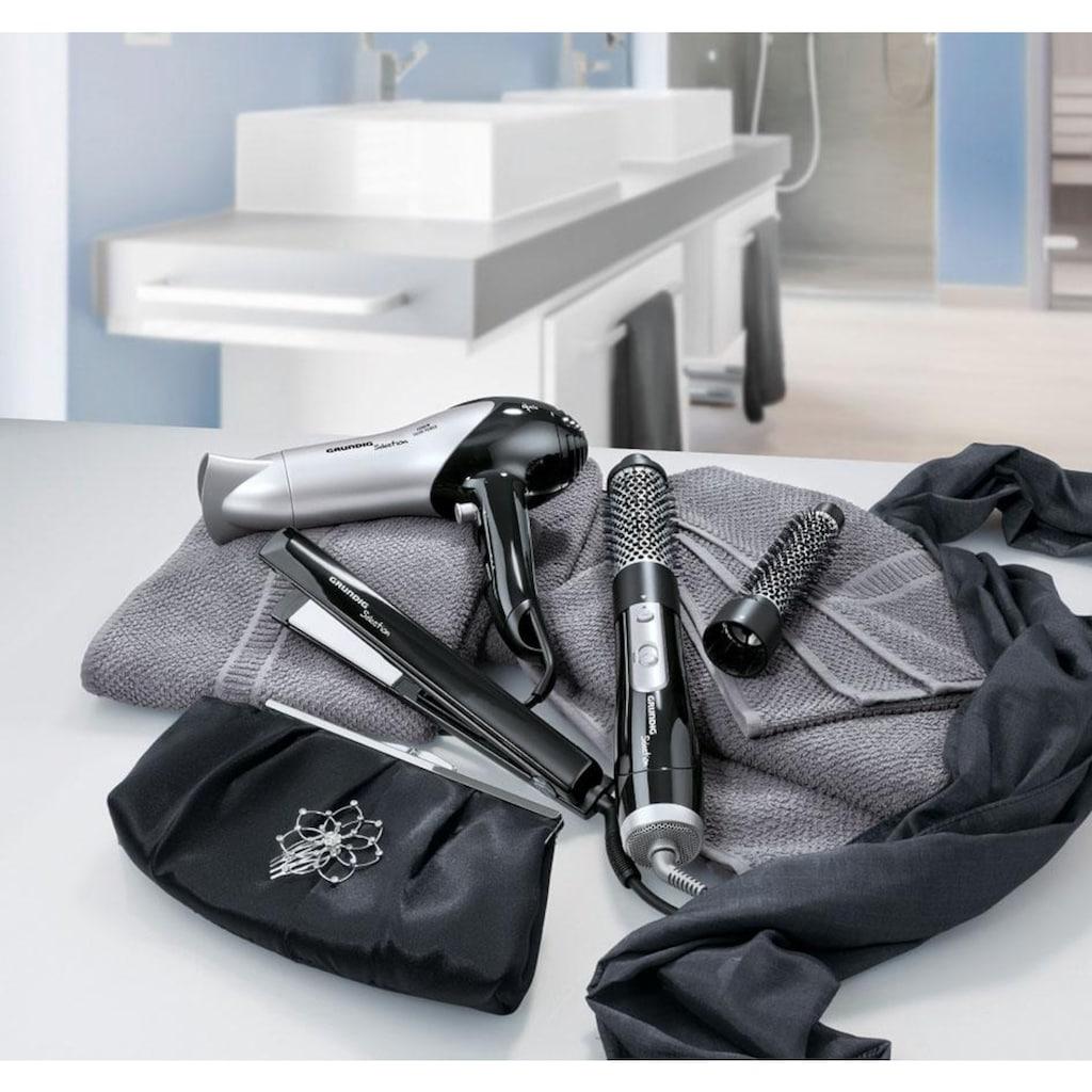 Grundig Haartrockner »HD 6080«, 2200 W, 1 Aufsätze, drei Temperaturstufen, zwei Gebläsestufen und eine schmale Stylingdüse für perfekte Ergebnisse