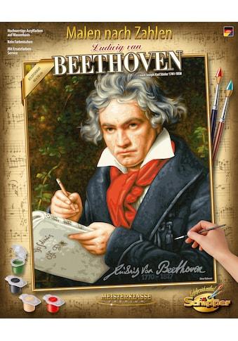 Schipper Malen nach Zahlen »Meisterklasse Premium - Ludwig van Beethoven«, Made in... kaufen
