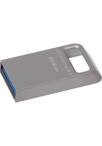 Kingston USB-Stick »DataTraveler Micro 3.1« kaufen