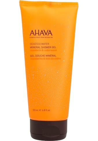 AHAVA Duschgel »Deadsea Water Mineral Shower Gel Mandarin Cedarwood« kaufen