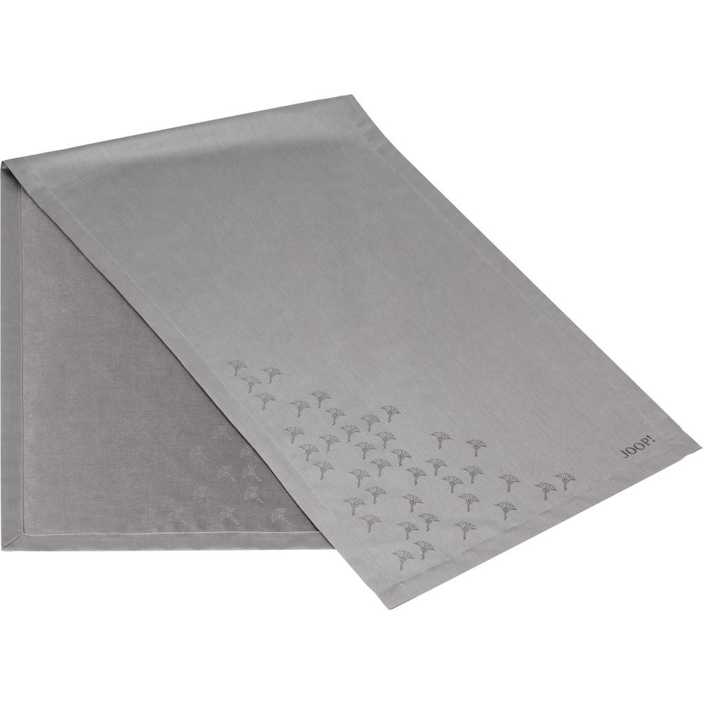 Joop! Tischläufer »FADED CORNFLOWER«, (1 St.), Aus Jacquard-Gewebe gerfertigt mit Kornblumen-Verlauf